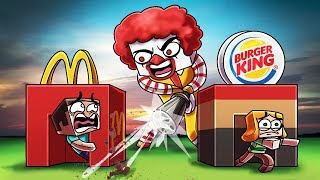 Download Minecraft | MCDONALD'S BASE CHALLNEGE! (Mcdonalds vs Burger King) Video