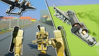 Download MULTIPLAYER SERVER DESTRUCTION! - Brick Rigs Multiplayer Gameplay - Playing with fans & Battles Video
