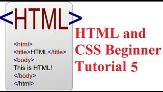 Download HTML and CSS Beginner Tutorial 5 : Add Video and Audio Media Player in HTML WebPage Video