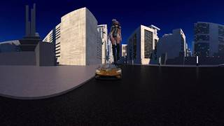 Download 100ft Woman - Giganta - Attacks City in VR 3D 360 Video