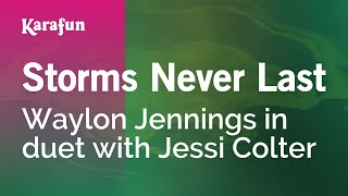 Download Karaoke Storms Never Last - Waylon Jennings * Video