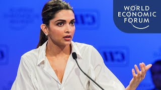 Download Deepika Padukone Addresses the Stigma of Mental Health Issues Video