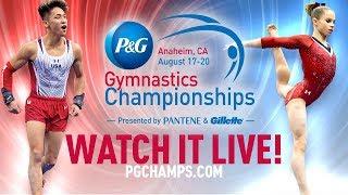 Download 2017 P&G Gymnastics Championships - Jr. Men's Podium Training Video