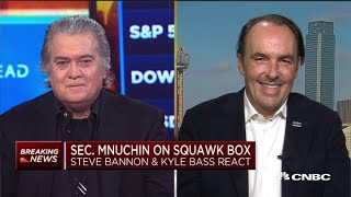 Download Watch CNBC's full interview with Steve Bannon and Kyle Bass on 'phase one' trade deal Video