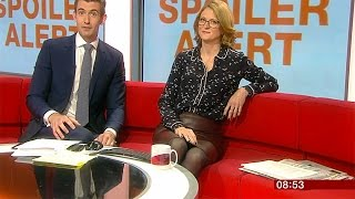 Download Rachel Burden   May 1st 2017   Brown Leather Skirt Video