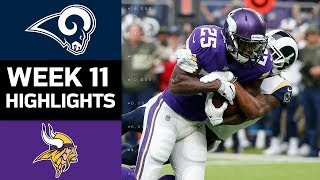 Download Rams vs. Vikings | NFL Week 11 Game Highlights Video