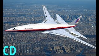 Download The Forgotten American Concordes - Boeing 2707 - Lockheed L-2000 SST Video