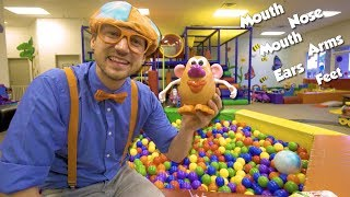 Download Learn Body Parts with Blippi | Educational Videos for Toddlers Video