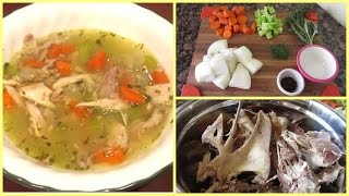Download Leftover Thanksgiving Turkey Soup Video