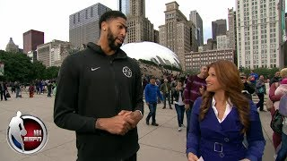 Download Anthony Davis tells Rachel Nichols why he's the best player in the NBA   The Jump Video