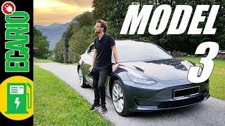 Download Tesla Model 3 💚 Die ganze Wahrheit - Test Fahrbericht Deutsch Video