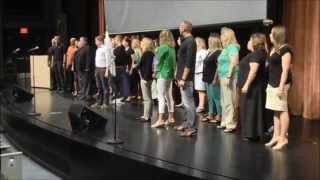 Download Flash Mob ″One Day More″ (Les Mis...with CC subtitles) - West Des Moines Schools - Welcome Back Video