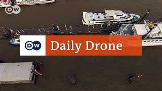 Download #DailyDrone: St. Pauli piers Video