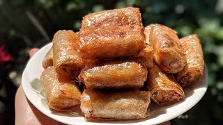 Download VEGAN SPRING ROLLS (Chả giò chay) + many awesome tricks Video