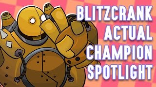 Download Blitzcrank ACTUAL Champion Spotlight Video