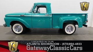Download 1964 Ford F-100 - Gateway Classic Cars of Atlanta #426 Video