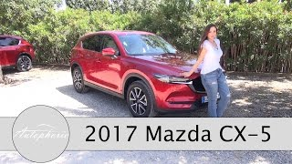 Download 2017 Mazda CX-5 Skyactiv-D 175 AWD Fahrbericht / SUV Topseller mit neuen Technik Tricks - Autophorie Video