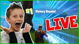 Download Victory Royale SOLO in Fortnite Live Stream Video