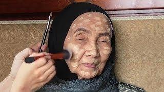 Download Вы Не Поверите, Как Изменилась 93-летняя Женщина После Нанесения Макияжа Video