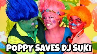 Download Trolls Poppy Turns Branch Happy and Save DJ Suki from the Bergans. Totally TV Video