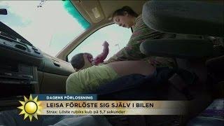 Download Paret tvingas förlösa sin son i bilen - allt fångas på film Video