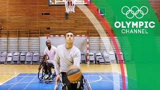 Download Refugee Paralympian Ibrahim Chases Wheelchair Basketball Dream | Camps to Champs Video