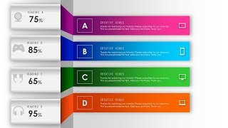 Download How To Design Abstract background with 4 Steps, Parts, Stages, Processes in PowerPoint PPT. Video