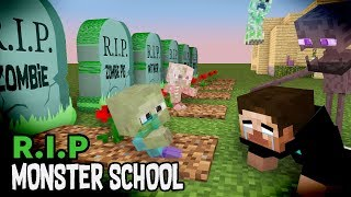 Download Monster School : RIP ALL BABY Monsters (Sad story) - Minecraft Animation Video