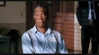 Download Morgan Freeman - The Shawshank Redemption -Montage rehabilitated prisoner - 40 years Video