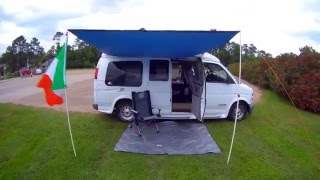 Download DIY Van Awning for UNDER $50! Check it OUT! Video