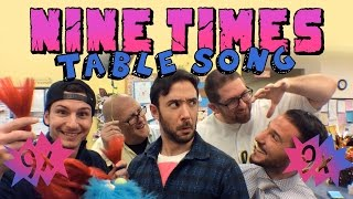 Download Nine Times Table Song (90's Song Mashup) Video