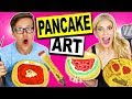 Download DIY BACK TO SCHOOL PANCAKE ART CHALLENGE!! Video