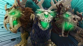 Download NEW Druid Forms! 8.1.5 PTR Kul Tirans/Zandalari Druids - WoW: Battle For Azeroth 8.1 Video