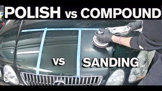 Download When to Polish vs Compound vs Wetsand Video