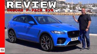 Download 2019 Jaguar F-Pace SVR Review Video
