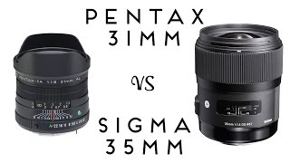 Download English Photographer - Pentax 31mm f1.8 vs Sigma 35mm f1.4 Art Lenses Compared Video