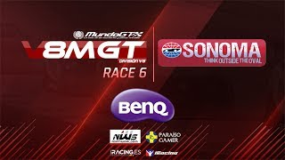 Download iRacing #V8MGT 2017 - División V8 - Sonoma - Carrera 6/6 Video