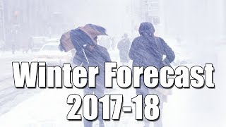 Download Winter Weather Forecast 2017-18 Video