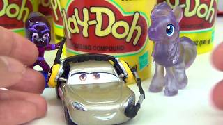 Download Disney CARS 3 Play-doh Toy Surprises, Lightning Mcqueen Cruz Mater , Learn Colors / TUYC Video
