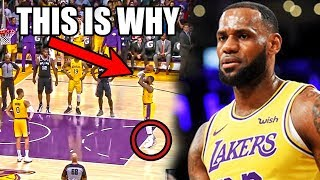 Download The REAL Reason Why LeBron James CAN'T Make Free Throws (Ft. Missed NBA Clutch Shots, Lakers Losses) Video