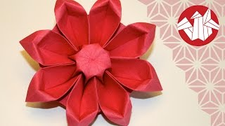 Download Origami Fleur: Gerbera - Flower Origami: Gerbera [Senbazuru] Video