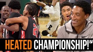 Download Sierra Canyon VS Etiwanda REGIONAL FINALS Gets HEATED & PHYSICAL! Scottie Pippen Jr SHINES! Video