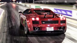Download Twin Turbo Lamborghini - Drag Racing Video
