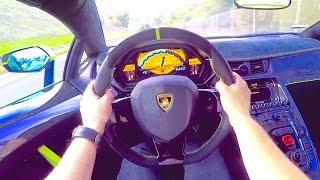 Download Aventador SV CRAZY POV Drive! Video