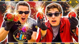 Download Mad Science: MARIO Fireballs, In Real Life (With MatPat) Video