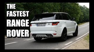 Download 2018 Range Rover Sport SVR (ENG) - Test Drive and Review Video