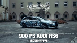 Download 900 PS Audi RS6 - BODENWAFFE / (engl.sub) Video