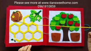 Download QUIETBOOK FOR BABY KIDS 1-3 YEARS OLD Video