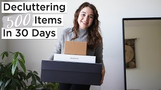 Download DECLUTTERING 500 ITEMS IN 30 DAYS 📦 | 30 day minimalism game Video