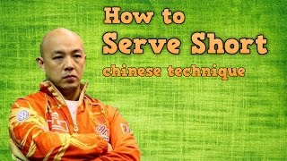 Download How to Serve Short with Side Spin in Table Tennis Video